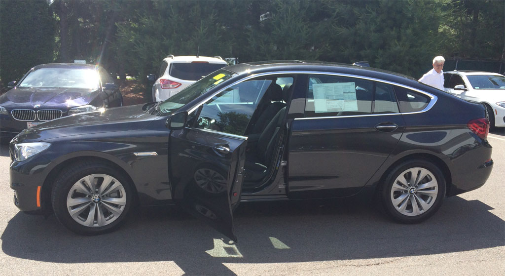 2015 BMW 535i xDrive Gran Turismo - Dark Graphite